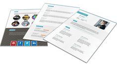 Origineel Portfolio CV format 402. Volledig in Microsoft Word voor elke functie zelf aan te passen.