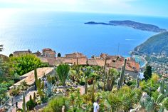 Exotic Gardens in Eze, France.