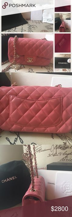 0531c4dac8b Spotted while shopping on Poshmark  Chanel Valentines 2014 pink mini flap  bag!  poshmark  fashion  shopping  style  CHANEL  Handbags