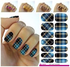[Visit to Buy] New fashion water transfer foil nail stickers all kinds of nail art design patterns fashion decorative decal K602 #Advertisement