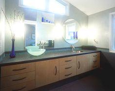 Colorful Bathroom Remodel// MSC Enterprises// #KansasCity