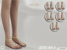 Madlen Adriana Feet by MJ95 at TSR via Sims 4 Updates  Check more at http://sims4updates.net/shoes/madlen-adriana-feet-by-mj95-at-tsr/