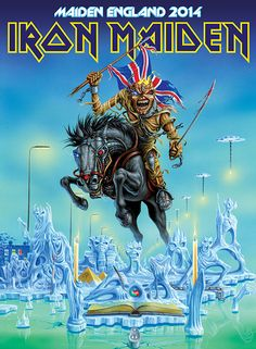 MAIDEN SUMMER 2014 TOUR HEADLINE DATE AT SONISPHERE, KNEBWORTH