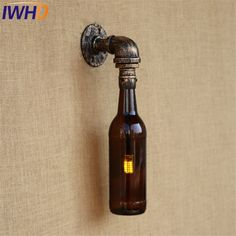 Lights & Lighting Led Lamps Iwhd Adjsutable Water Pipe Vintage Wall Lamp Rust Iron Metal 5w Loft Style Industrial Wall Sconces Home Lighting Led Stair Light Long Performance Life