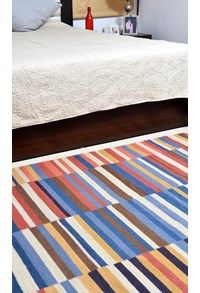 New Durries,The Carpet Cellar,Indian Durry<br>TCC-7976<br>5.11 Feet X 4.2 Feet