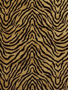 TIGER 1756 NUGGET #animal-skins #black-gray-silver #woven-fabrics #yellow-gold Tiger Wallpaper, Animal Print Wallpaper, Pattern Wallpaper, Wallpaper Backgrounds, Animal Print Rug, Wallpapers, Tiger Skin, Pet Tiger, Fabric Patterns