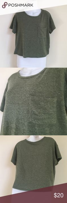 """AE soft and sexy crop top 93% polyester 5% elastane 2% viscose (so soft!!!) bust:18"""" length 20"""". Excellent condition, bought and never worn . 20% bundles for a limited time  American Eagle Outfitters Tops Crop Tops"""