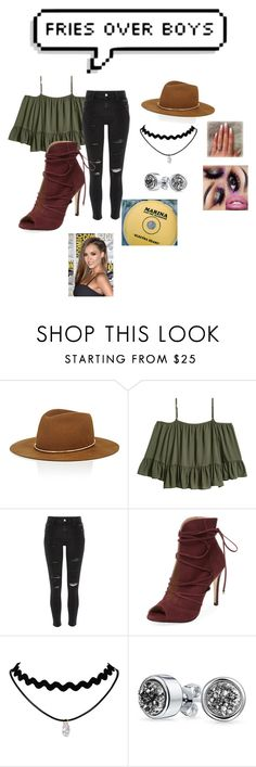 """""""be you"""" by imsingleiloveeverybody ❤ liked on Polyvore featuring Janessa Leone, River Island, Elorie and Bling Jewelry"""