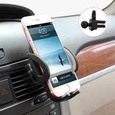 Beam Electronics Universal Smartphone Car Air Vent Mount Holder Cradle Compatible with iPhone X 8 8 Plus 7 7 Plus SE 6 Plus 6 5 4 Samsung Galaxy LG Nexus Sony Nokia and More… T Mobile Phones, Best Mobile Phone, Best Cell Phone, Iphone 7 Plus, Iphone 8, Iphone Car Holder, Cell Phone Holder, Smartphone Holder, Air Vent Phone Holder