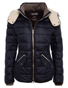 8e5f8347f5 S.Oliver Doudoune Dark navy - Doudoune Femme Zalando. Winter  StylePromotionWinter FashionZipperMantleJacketsPhd Graduation