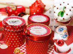 christmas diy box reinventare una scatola per contenere i biscotti natalizia