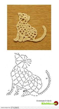 Croche e Pontos: Barrados e Motivos (animais de Mantas etc...)