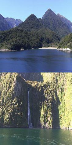Fiordland National Park New Zealand (VIDEO) #Travel #Nature #Beautiful #Amazing