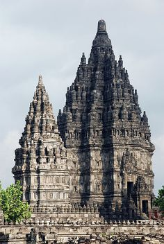 Prambanan Temple in Java, Indonesia - by Martijn Nijenhuis