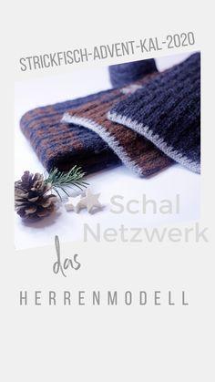 Ein Modell, zwei Varianten. Der Herren- wie der Damenschal sind unkompliziert zu stricken und in deiner Lieblingsfarbe dein perfektes Winteraccessoire.