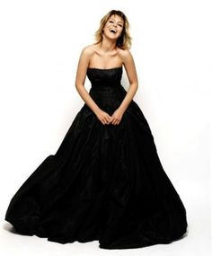 black wedding dress | Colorfulland