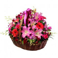 Big flower basket Australia