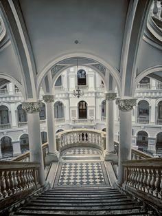 Royal palace in Warsaw.