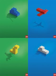 LEGO AD / how they look by kids