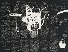 JEAN-MICHEL BASQUIAT 1960 - 1988 UNTITLED