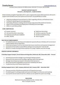 special achievements for resume