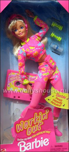 Workin' Out Barbie...I remember the song!!! lmao