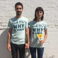 Ask Me Why I'm Vegan! #VeganFashion #OOTD