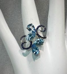 Wow! Take a look at the new arrivals! http://www.joyoflondonjewels.com/products/14k-white-gold-aquamarine-and-sapphire-ring?utm_campaign=social_autopilot&utm_source=pin&utm_medium=pin