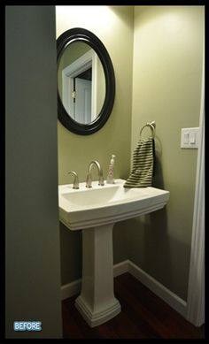 what a pedestal sink would look like