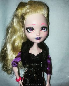monster high repaint by me