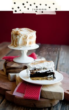 S'more Cakelettes