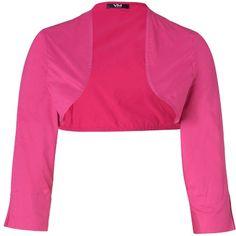 Angesagter pinker #Bolero von #Vera #Mont. Der angesagte Bolero schaut toll zu sommerlichen Abendkleidern aus und ist ein Hit auf hippen Strandparties! ♥ ab 69,95 €