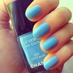 Coco blue 551 nails