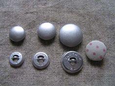 Button 即決50個 101214162025mm補充用くるみボタン釦 ハンドメイド インテリア 雑貨 Handmade ¥330yen 〆07月12日