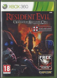 Xbox 360 Resident Evil Operation Raccoon City (Nordic edition) BRAND NEW