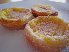 Portugiesische Puddingtörtchen - Ultimatefood