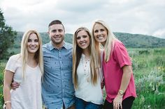 Meet the Clark Family, family pictures, nature family pictures, natural family pictures, color coordinating