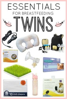 Are you pregnant with twins? Do you plan to breastfeed? These products helped us have a successful breastfeeding experience. Expecting Twins, Breastfeeding And Pumping, Lamaze Classes, Twin Mom, Third Baby, How To Have Twins, Baby Sleep, The Help, New Baby Products