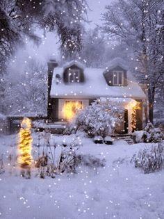 Winterstreet  Christmas  Pinterest  Winter Snow and Holidays