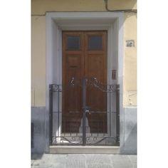 Wrought Iron Pedestrian Gate. Customize Realisations. 048 Pedestrian, Wrought Iron, Gate, Applique, Design, Portal