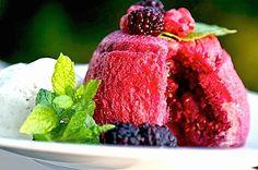 juicy summer pudding! <3