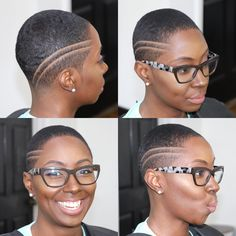 10 Bald Beauties That Will Make You Want To Kiss Your Luscious Curls Goodbye Natural Hair Short Cuts, Short Natural Haircuts, Tapered Natural Hair, Short Hair Cuts, Natural Hair Styles, Big Chop, Short Twists, Brush Cut, Twist Curls