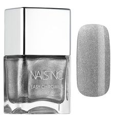 Shop NAILS INC's Easy Chrome Nail Polish Collection at Sephora. This line of polishes have no powder and no fuss—just polish in a shiny chrome finish. Chrome Nail Polish, Cute Nail Polish, Chrome Nails, Polish Nails, Sns Nails Colors, Nail Polish Colors, Black Nails, White Nails, Neutral Nail Color