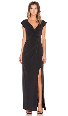 THE JETSET DIARIES Novella Maxi Dress in Black | REVOLVE