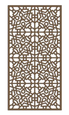 Unique with inclusion of organic/flowy designs Laser Cut Screens, Laser Cut Panels, Laser Cut Metal, 3d Laser, Moroccan Pattern, Oriental Pattern, Cnc Cutting Design, Rolled Paper Art, Laser Cut Patterns