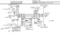 Honda Monkey Z50Z  for main harness NEW Japan | eBay