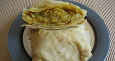 This is one recipe of a Barbados style chicken and potato roti, recipes vary from country to country, this is a tasty Barbadian style roti