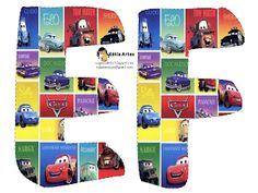 EUGENIA - KATIA ARTES - BLOG DE LETRAS PERSONALIZADAS E ALGUMAS COISINHAS: Alfabeto carros