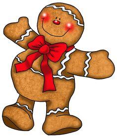 Gingerbread Man Ornament PNG Clipart