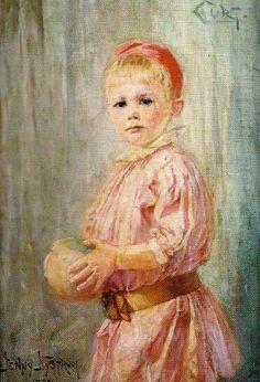 Curt Nystrom-Jenny Nystrom (1854 – 1946, Swedish)